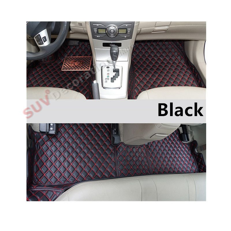 For Land Rover Discovery 3 L319 2004 2009 Accessories Interior Leather Carpets Cover Car Foot Mat Floor Pad Interior Accessories Carpet Cover Leather Interior