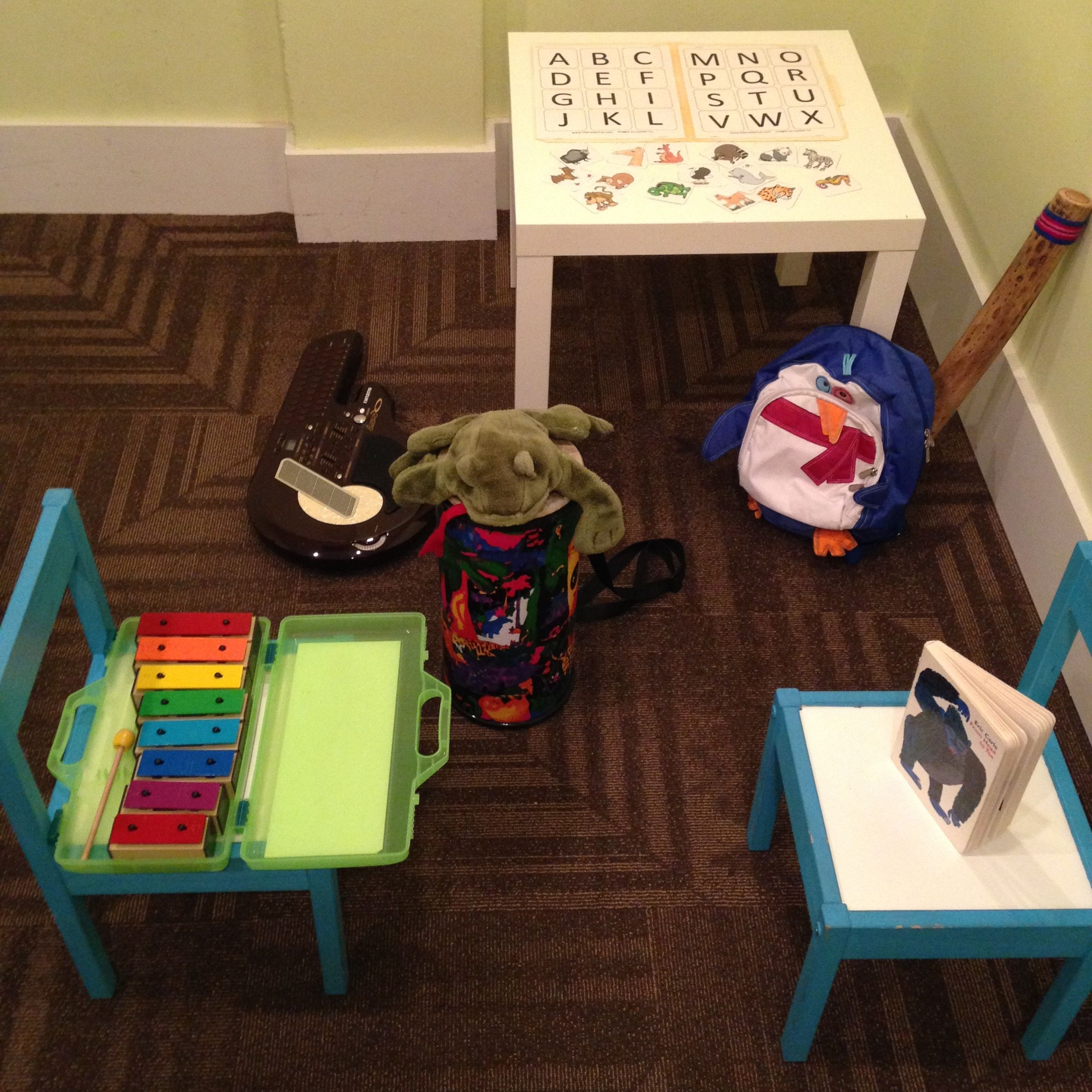 Musical Hide & Seek for your children's music therapy sessions (individual or dyad!)