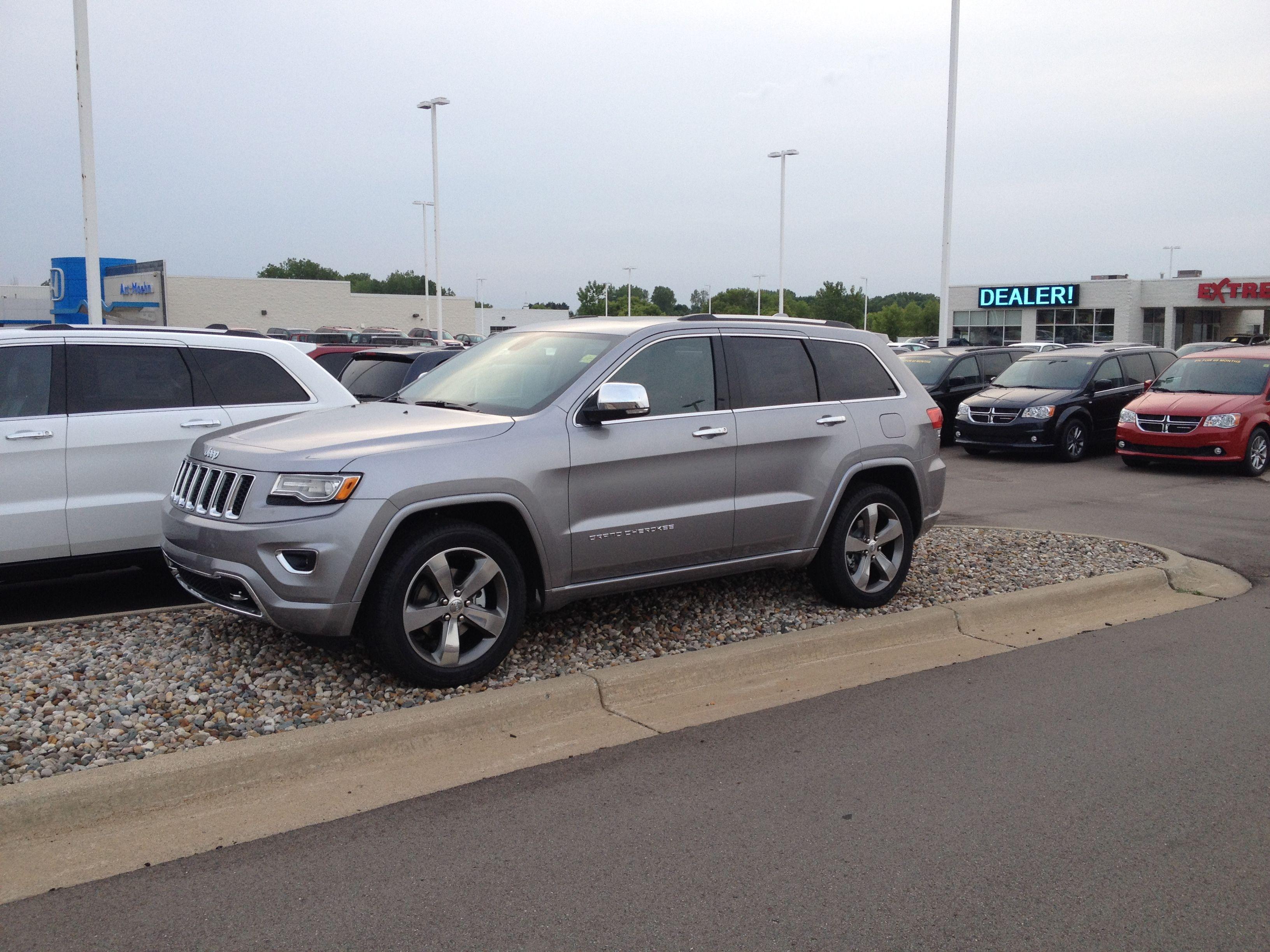2014 Jeep Grand Cherokee Overland Billet Silver Grand Cherokee