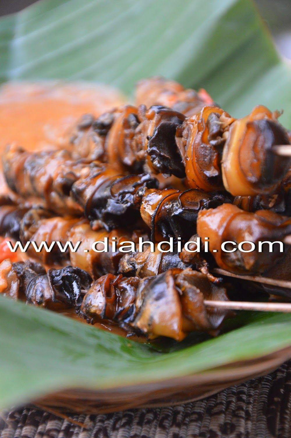 Diah Didi S Kitchen Pecel Sate Keong Ide Makanan Masakan Indonesia Resep Masakan Indonesia