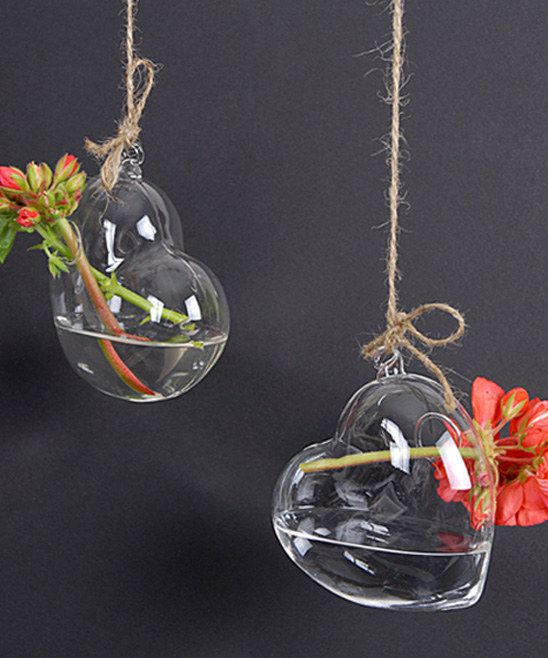 Hanging Heart Vases- by Cris Figueired♥