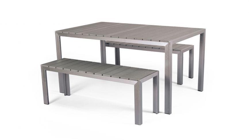 Aluminium Picnic Bench Set | aluminium furniture | Pinterest