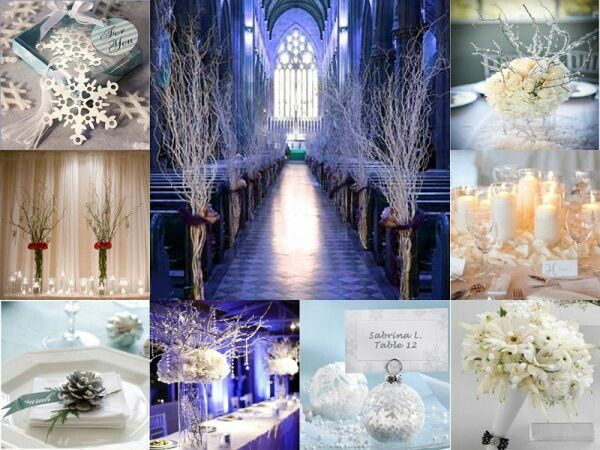 Pinterest Winter Wedding Centerpieces: Winter-wonderland-church-wedding-wedding-decor-pinterest