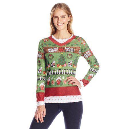 2ea6951b36ce0 Ladies Ugly Christmas Sweater