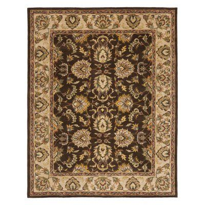 Safavieh HG912A-912 Heritage Rug - Brown / Ivory - 9 x 12 ft. - HG912A-912