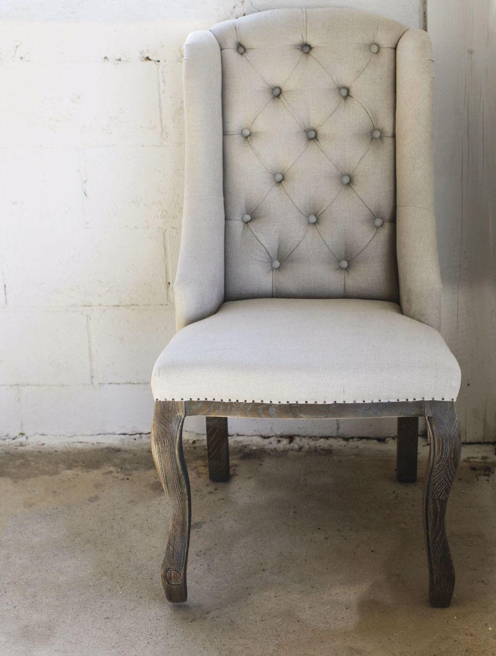Casual Country Arm Chair Wayfair Tufted chair, Chair