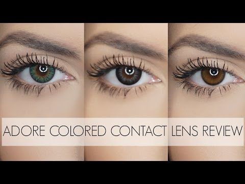 how to put contact lenses in youtube