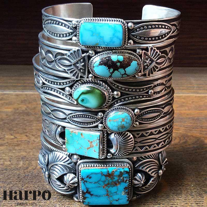 6b9ddd98e774bb Harpo Bijoux for men © #braceletturquoise #turquoise #nativepeople ...