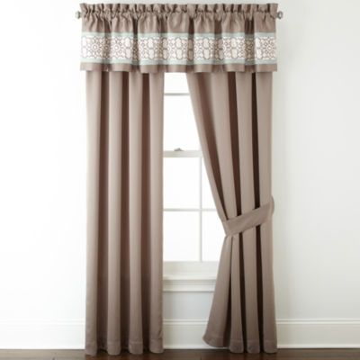 Buy Home Expressions Lara 2 Pack Rod Pocket Curtain Panels Today At Jcpenneycom You Deserve Great