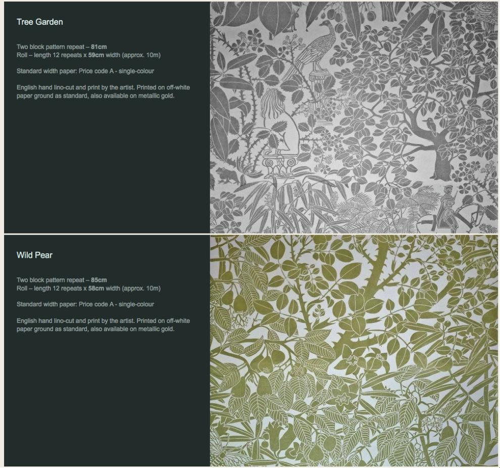 Wallpaper Designs Hand Prints Block Patterns Art Print Geometric