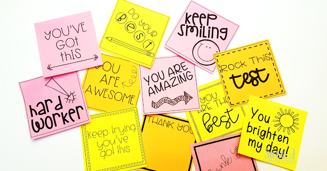 It is a graphic of Editable Post It Note Template for flat design