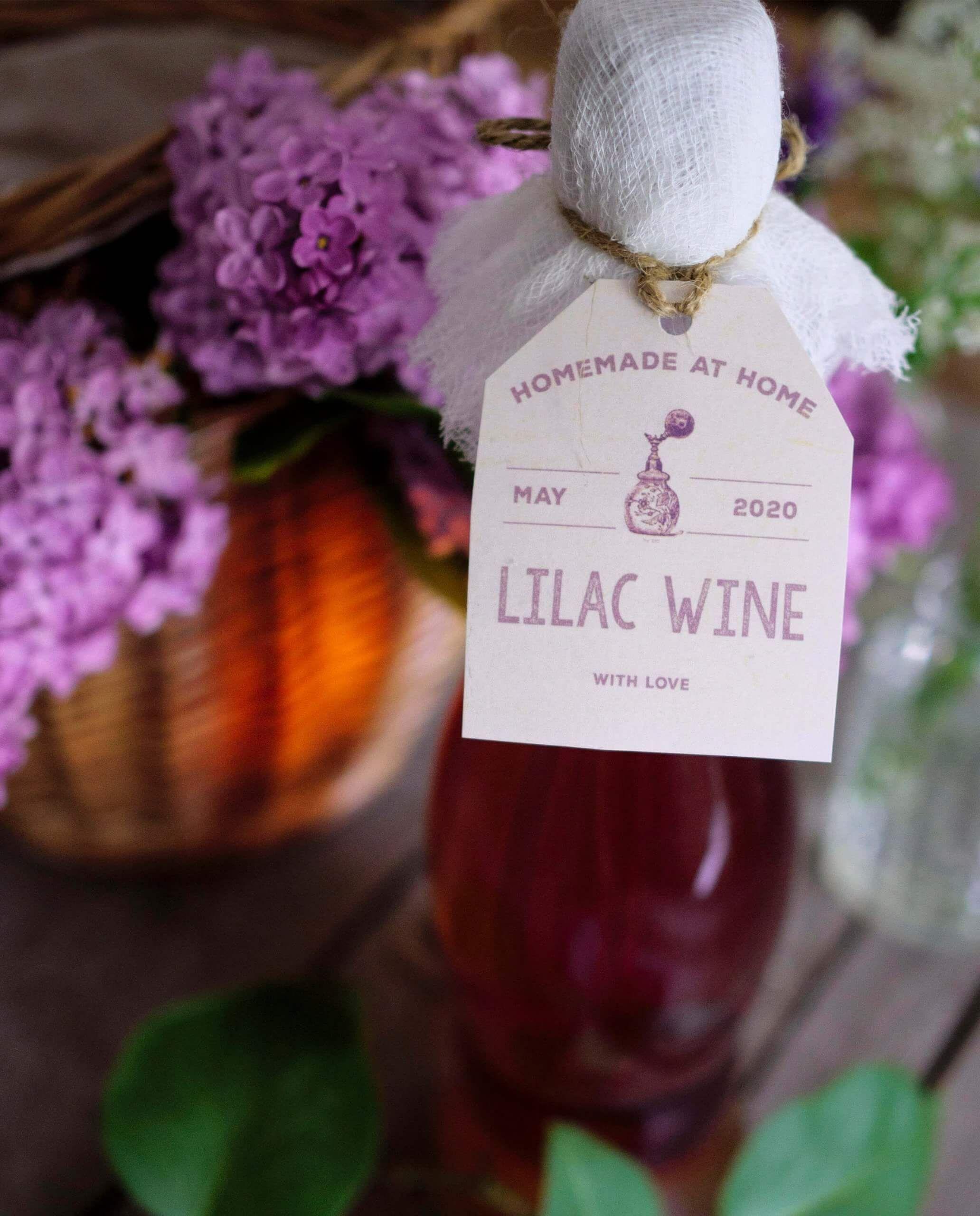 Lilac Wine Recipe In 2020 Wine Ingredients Homemade Wine Orange Wine