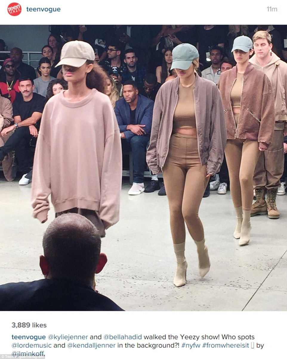 Kanye West Unveils His Second Yeezy Collection At Nyfw Yeezy Fashion Show Kanye Fashion Fashion