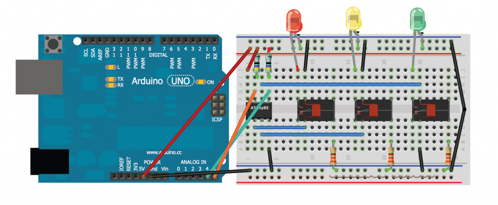 Relay Control Over I2c Arduino Relay Electronics Projects