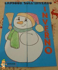 Un Lapbook Sull Inverno Lapbook Pinterest