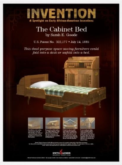 sarah e. goode: the foldaway bed goode was the first african