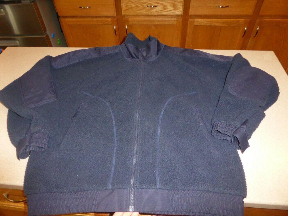 5f013733e Orvis Mens Navy Full Zip Fleece Jacket Sherpa Coat sz XL #Orvis ...