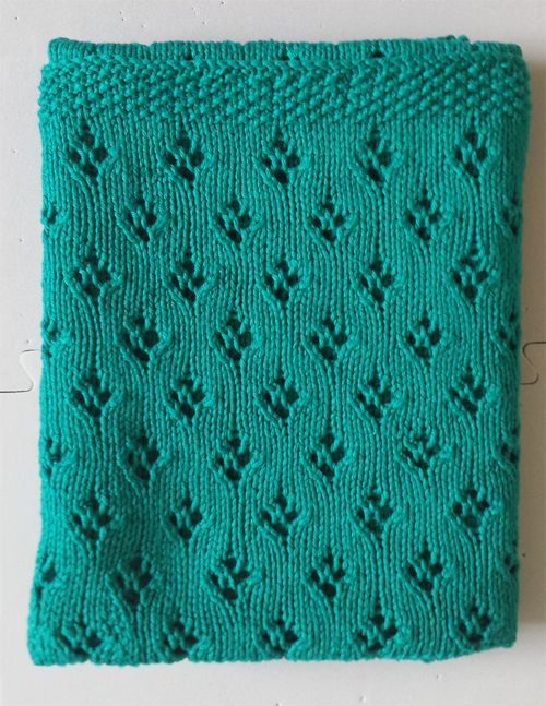 Free knitting patterns for baby blankets easy patterns knit free knitting pattern for alexs baby blanket easy pattern with tulip lace dt1010fo