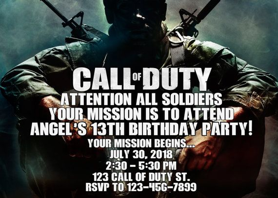 Call of duty invitation call of duty birthday invitation call of call of duty invitation call of duty birthday invitation call of duty invitation call of duty printable turnaround time 12 24 hr filmwisefo