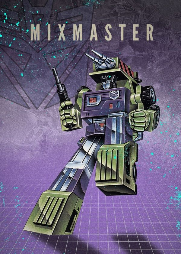 """Transformers Decepticons Mixmaster #Displate explore Pinterest""""> #Displate artwork by artist """"Rykker o7"""". Part of… 