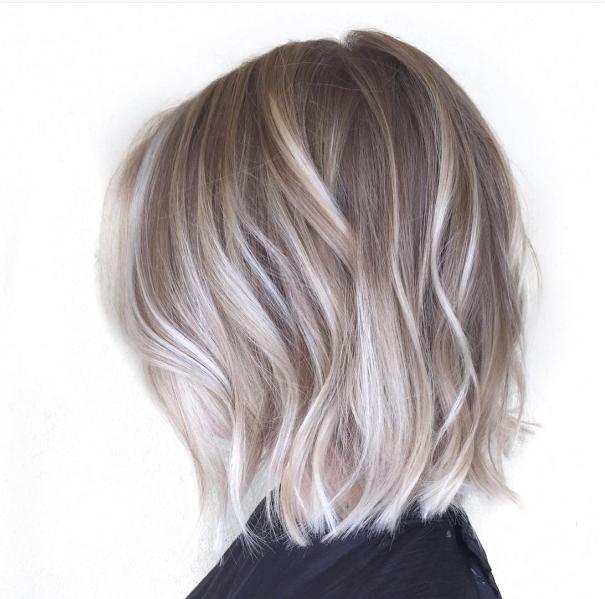Aschblonde kurze haare