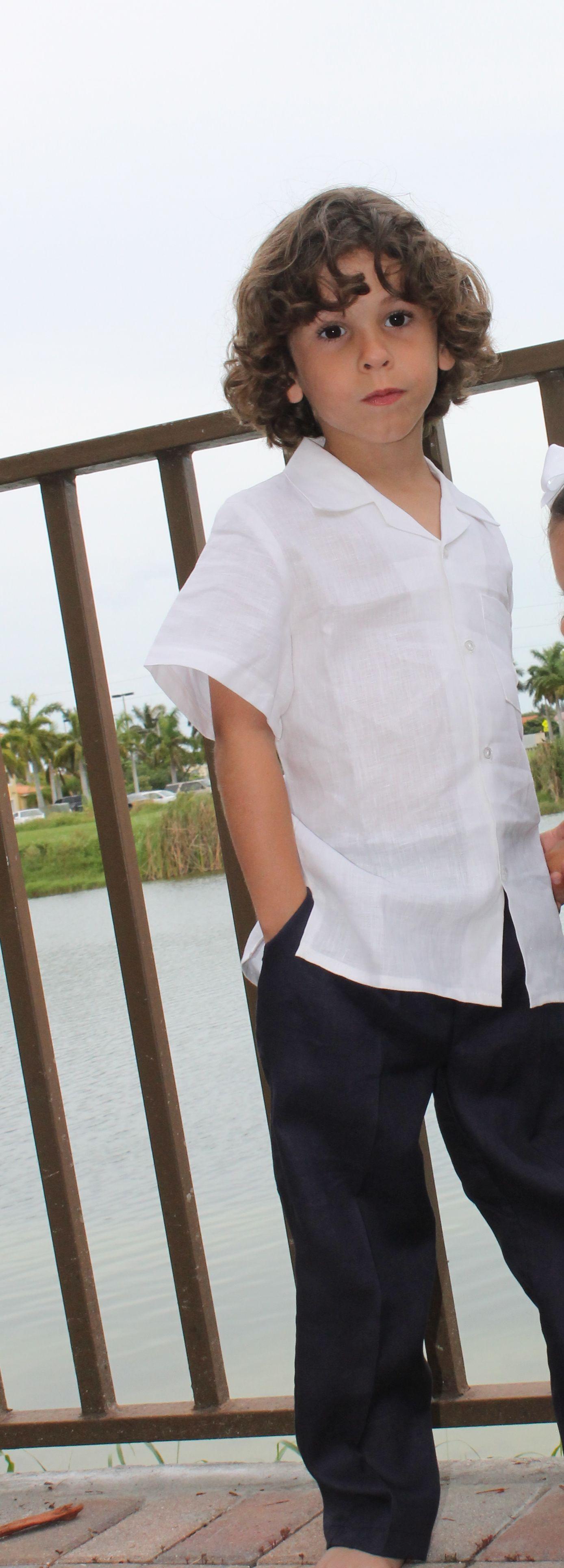 Boys linen shirts and pants tiny little people pinterest