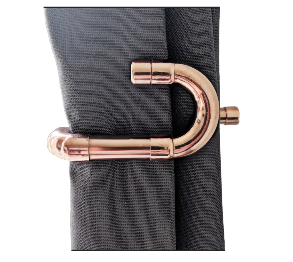 Return Copper Curtain Holders Tie Backs Home Ideas