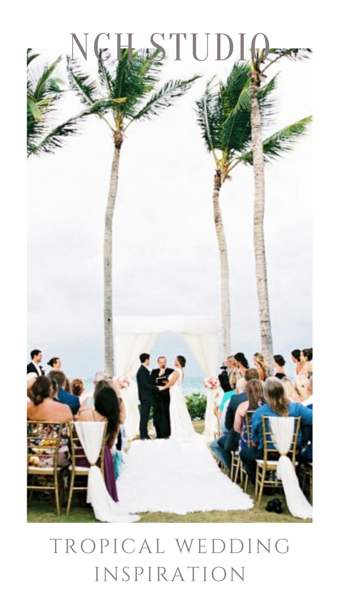 Tropical Destination Wedding Punta Cana By NCH Studio