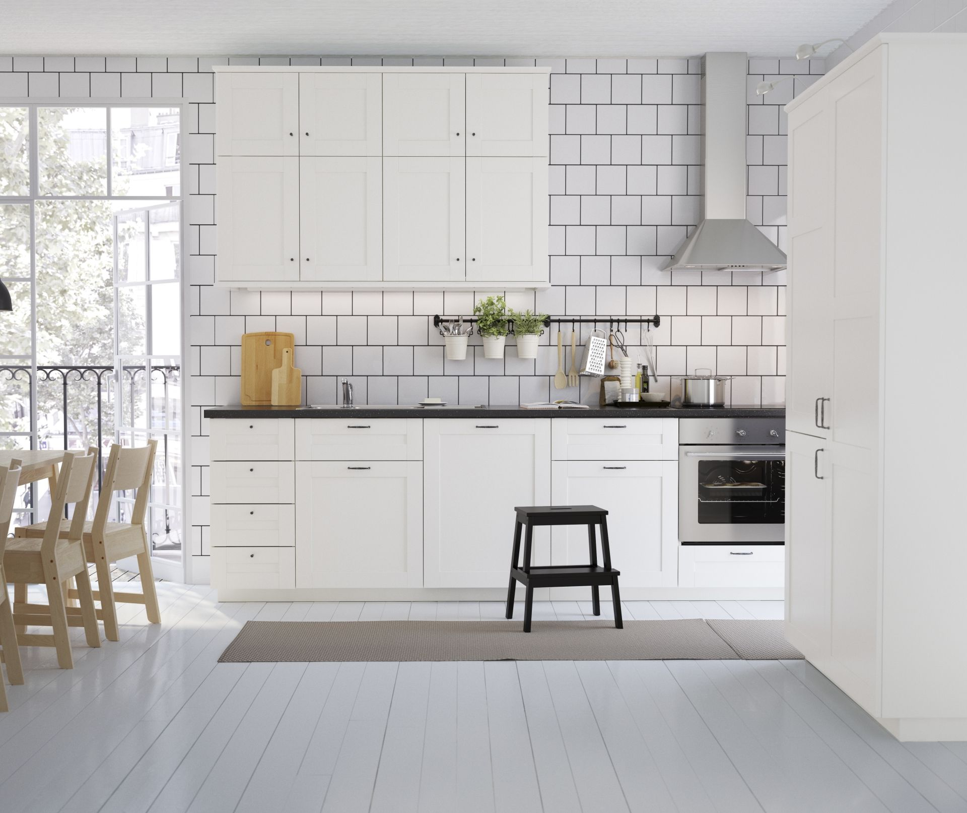 metod s vedal keuken ikea ikeanl ikeanederland wit traditioneel landelijk opbergen opberger. Black Bedroom Furniture Sets. Home Design Ideas