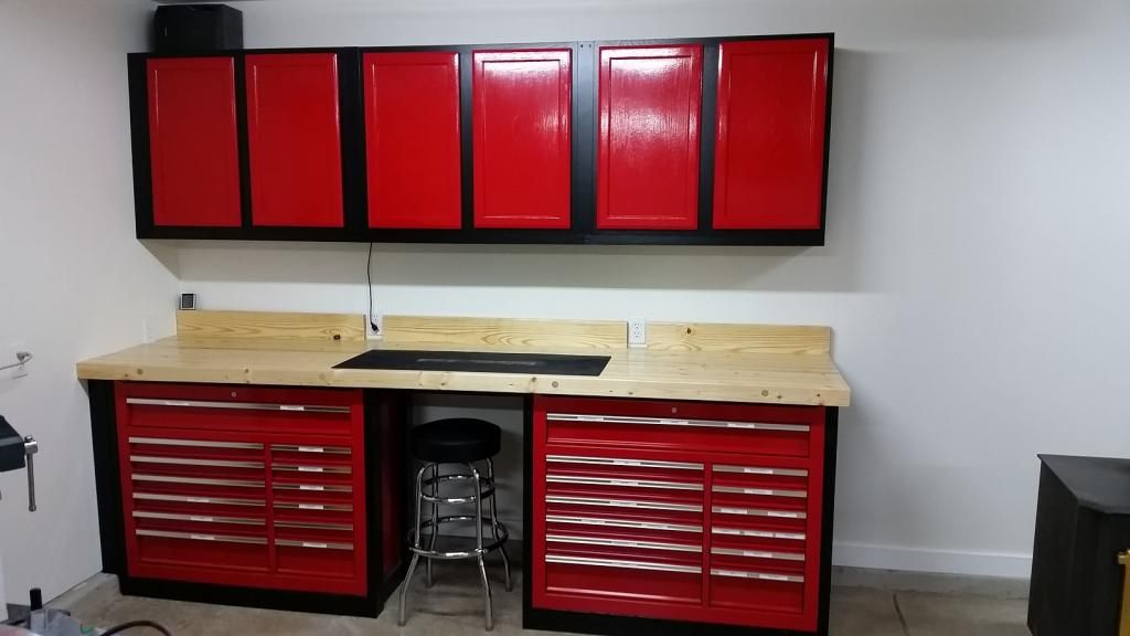 Another 44 Harbor Freight Tool Box Wood Workbench The Garage Journal Board