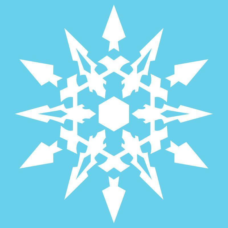 Rwby Weiss Emblem Vinyl Decal White Rwby Weiss Rwby And Weiss