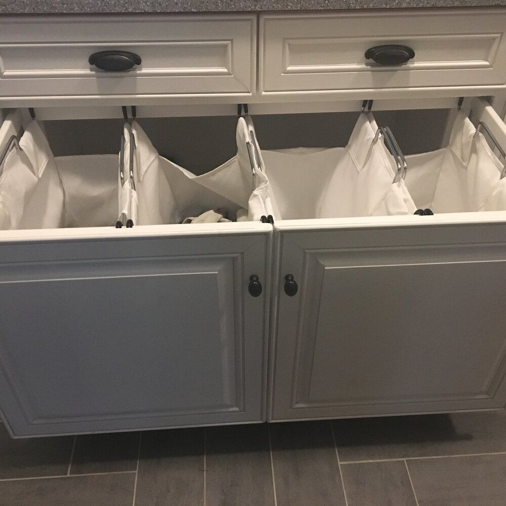 Heavy Duty Quad Laundry Hamper In 2020 Laundry Room Remodel