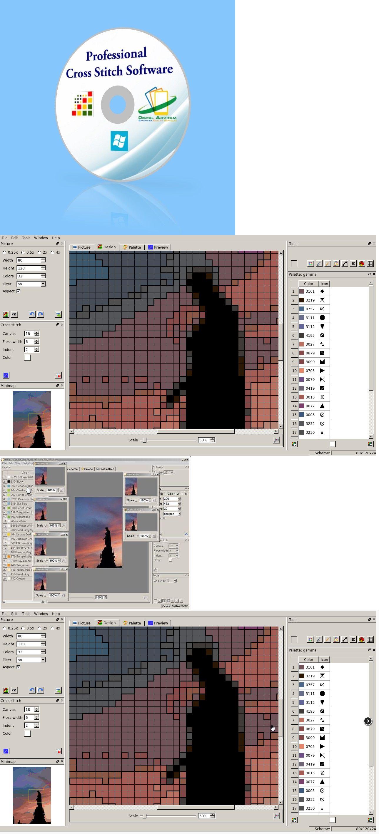 Hobbies And Leisure 80015 Cross Stitch Software Design Program