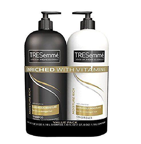 Tresemme Moisture Rich Shampoo Amp Conditioner Value Pack 2 40oz Shampoo And Conditioner Tresemme Shampoo Shampoo