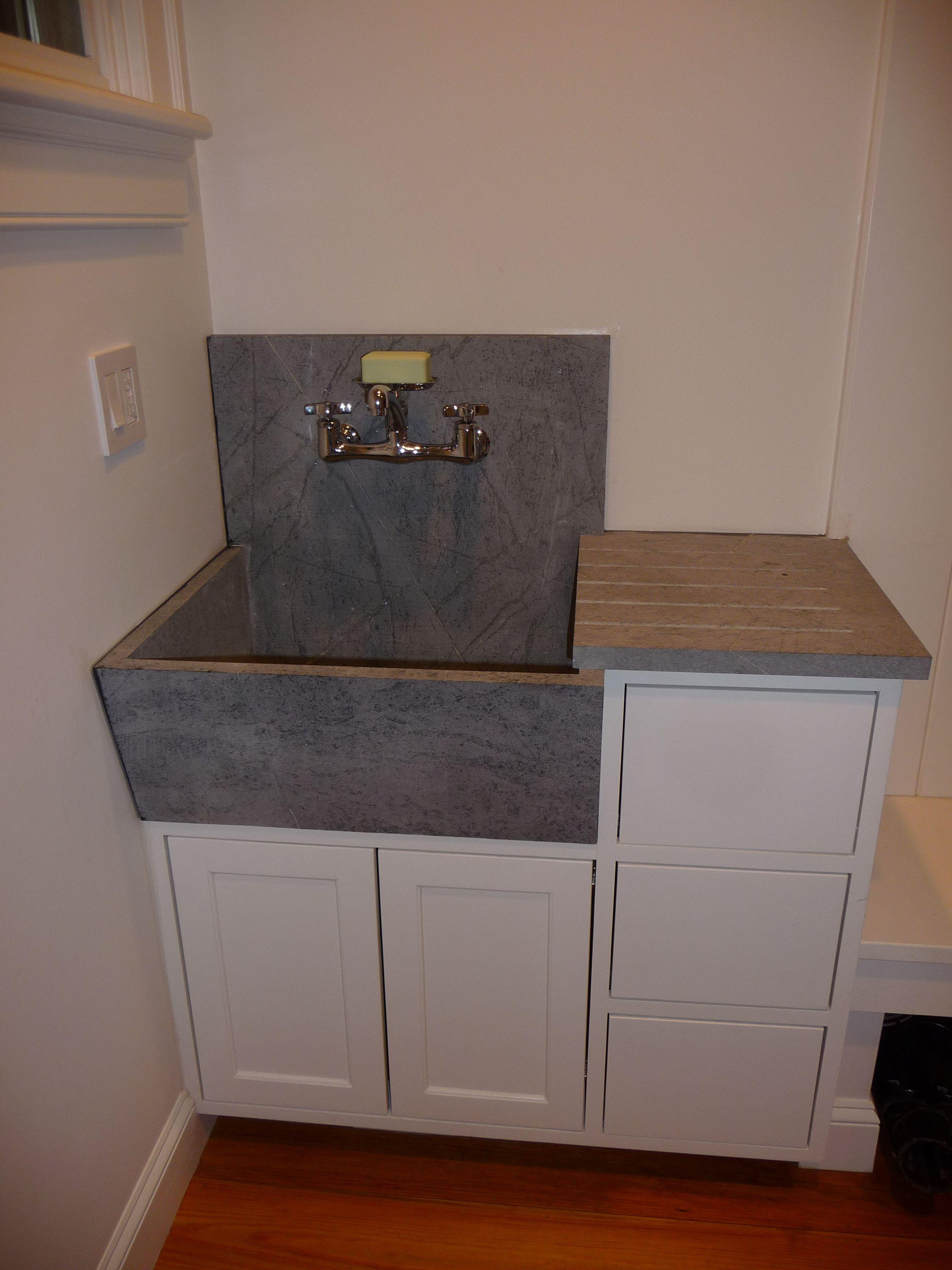 Custom Mudroom Wash Sink Vanity Mudroom Vanity Sink Storage Bench