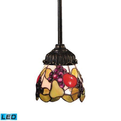 Astoria Grand Loomis 1 - Light Single Bell Pendant | Wayfair