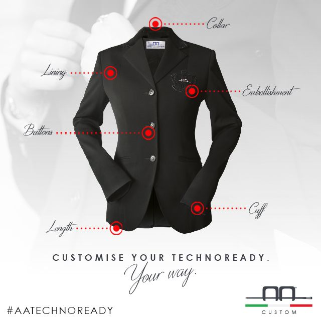 Customize your AA Technoready, Your way #aaridingstyle #custom #technoready #unique #wearwhatyouwant
