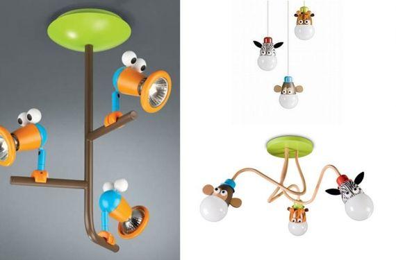 Luminarias infantiles para todos los gustos Para niños, Lámparas