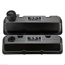 Ford Racing 302 351 Cleveland Aluminum Rocker Covers M 6582 A341r