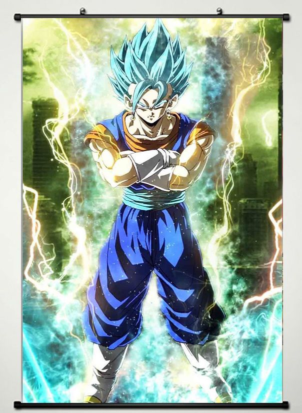 Dragon Ball Z Super Fighting Hot Japan Anime Wall Scroll Poster 40x60 Cm Anime Dragon Ball Dragon Ball Z Dragon Ball