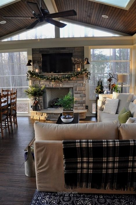 Fireplace Design Ideas For This Winter