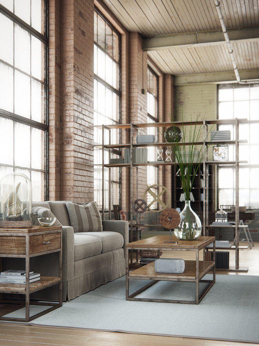 описания новые индустриальные стили мебели и их фото способы