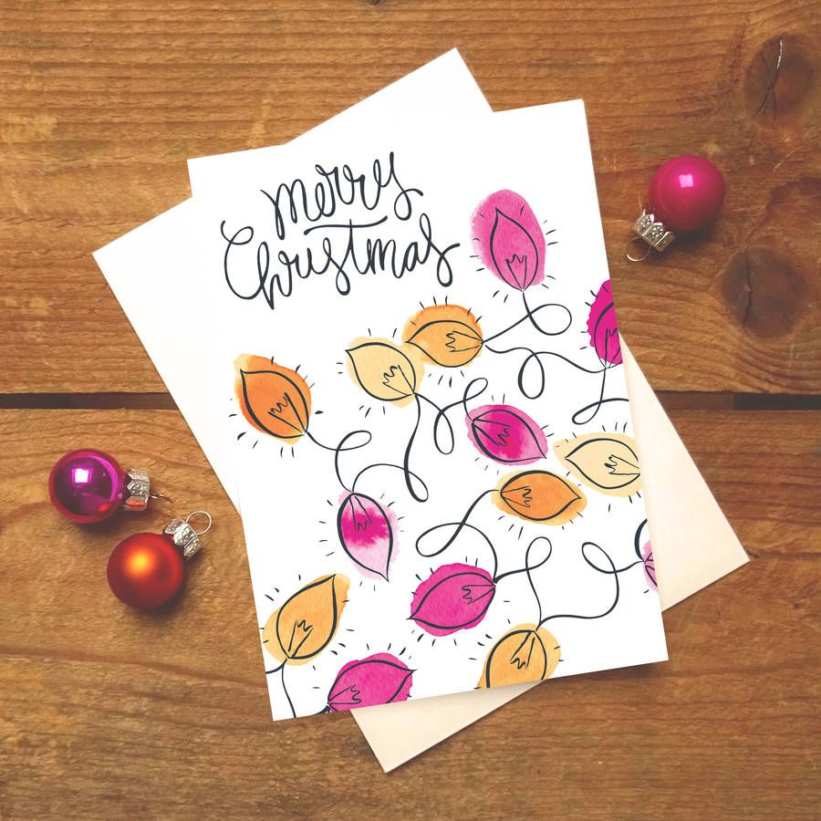 Tangled lights christmas card design one diy christmas designs and are you interested in our christmas card pack with our boxed christmas cards you need look no further kristyandbryce Choice Image