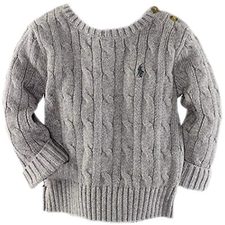 Wolke Kinder Kinder Jungen Strickpullover Baumwolle Pullover Sweatshirt Grau  Wolke Kinder Kinder Jungen Strickpullover Baumwolle Pullover Sweatshirt Grau