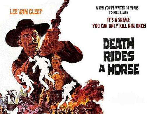 Italian Western Movies Graphic Design