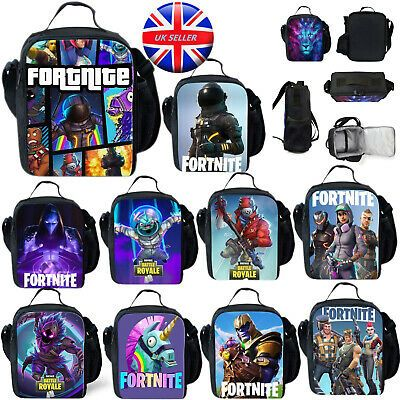 Lunch Bag Fortnite Insulated School Boys Girls Lunch Box