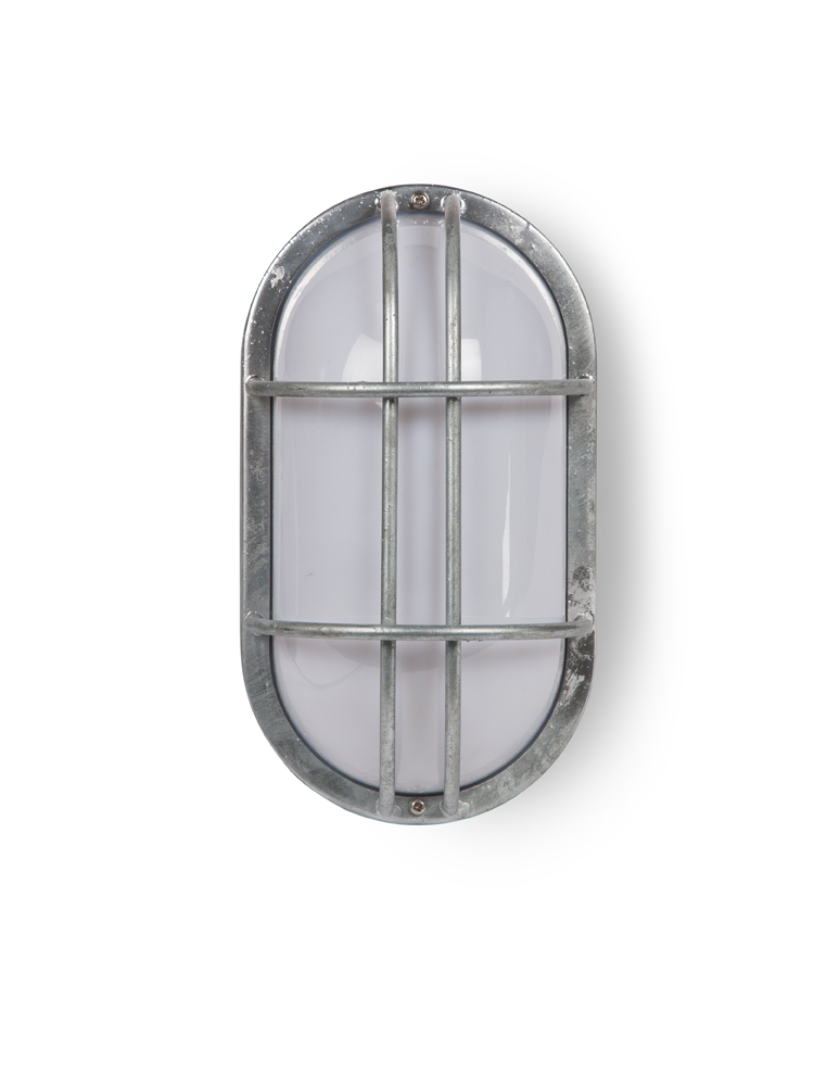 cox cox oval bunker wall light light outside. Black Bedroom Furniture Sets. Home Design Ideas