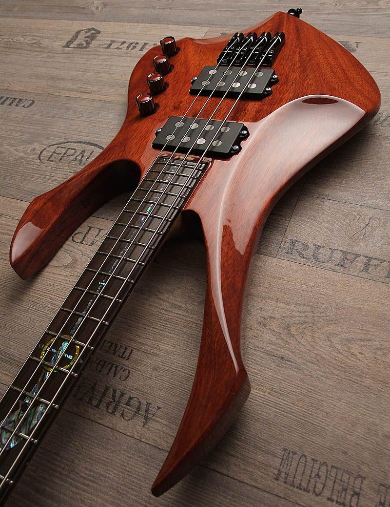 "Zerberus Guitars ""Crow Bass"" Guitar, Custom bass guitar"