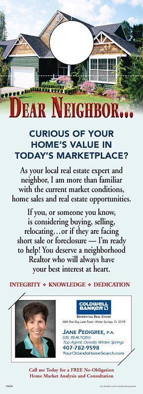 ReaMark Real Estate Door Hanger - Get noticed in your