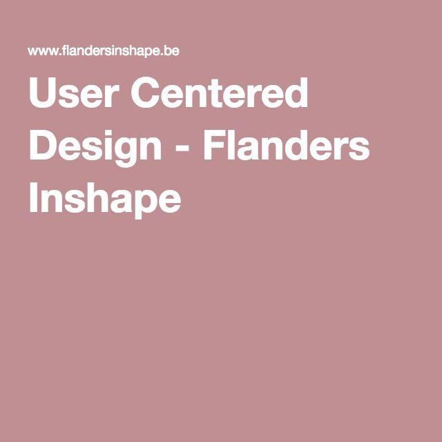 User Centered Design - Flanders Inshape